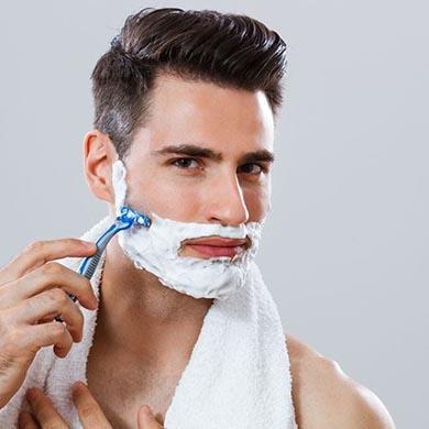 Metoder för att behandla hårsäcksinflammation och inåtväxande hår