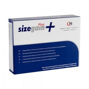 SizeGain Plus naturligt förstärkningstillskott för män