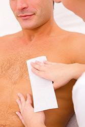 män hårborttagning