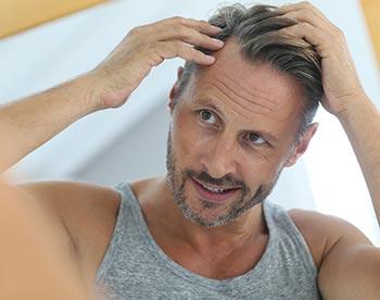 laser för att motverka håravfall