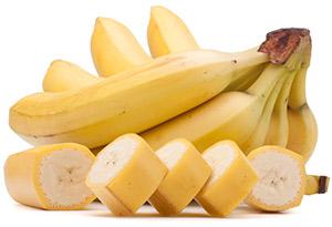 banan som hemmagjord ansiktsmask mot finnar