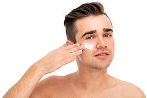 hudvårdstips för män